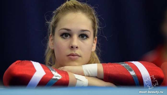 Самые красивые гимнастки: Джулия Штайнгрубер