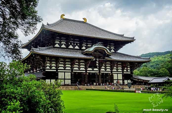 Достопримечательности Японии: Храм Тодай-дзи. CC0