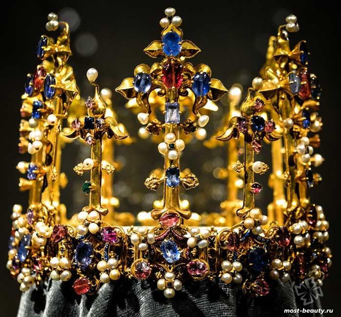 Самые красивые короны: Корона Анны Богемской