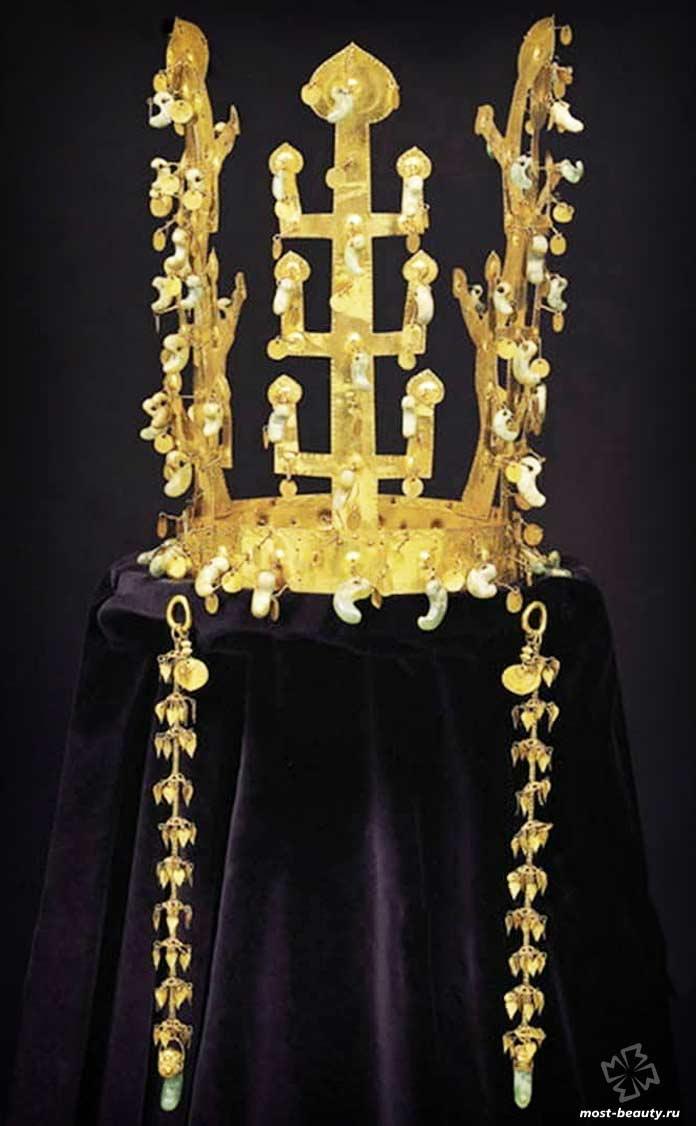 Корона государства Силла - одна из самых красивых корон