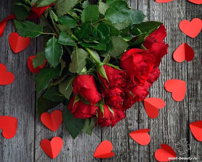 Букет красных роз. CC0