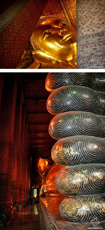 Самые красивые места Таиланда: Лежащий Будда в Бангкоке. CC0