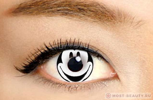Mickey Mouse Contact Lenses