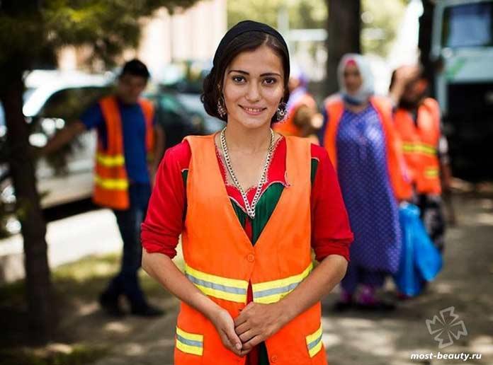 Самые красивые таджички: Мунира Мирзоева