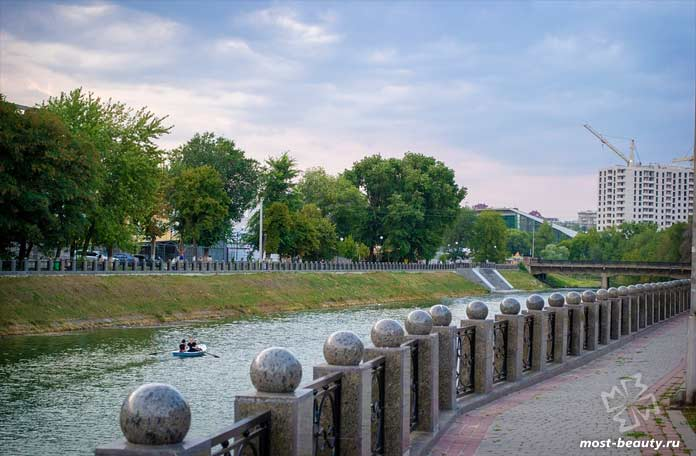 Красивые места Харькова: Набережная. CC0