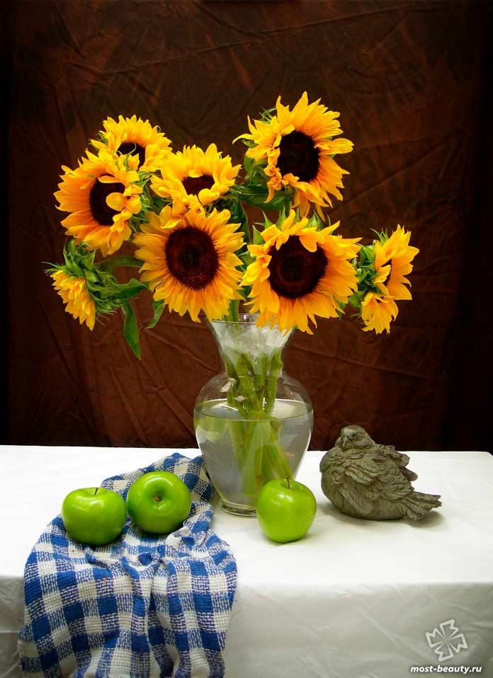 Красивые букеты цветов: Подсолнухи. CC0