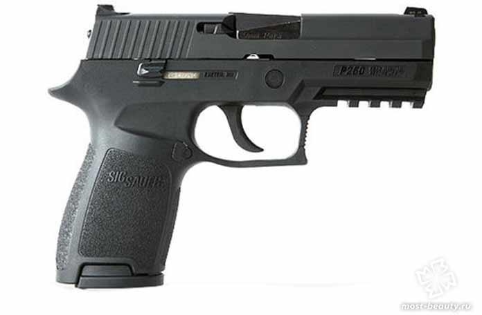 Самые мощные пистолеты: SIG Sauer P250