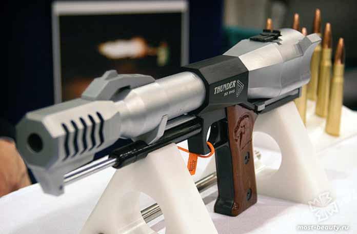 Самые мощные пистолеты: Thunder 50 BMG