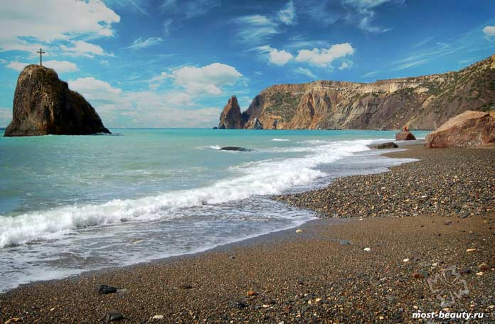 Яшмовый пляж. Мыс Фиолент