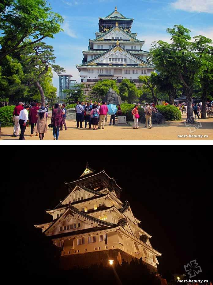 Замок в Осаке. CC0