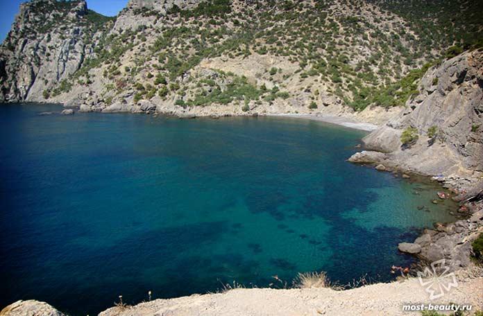Самые живописные пляжи Крыма: Царский пляж. Новый свет