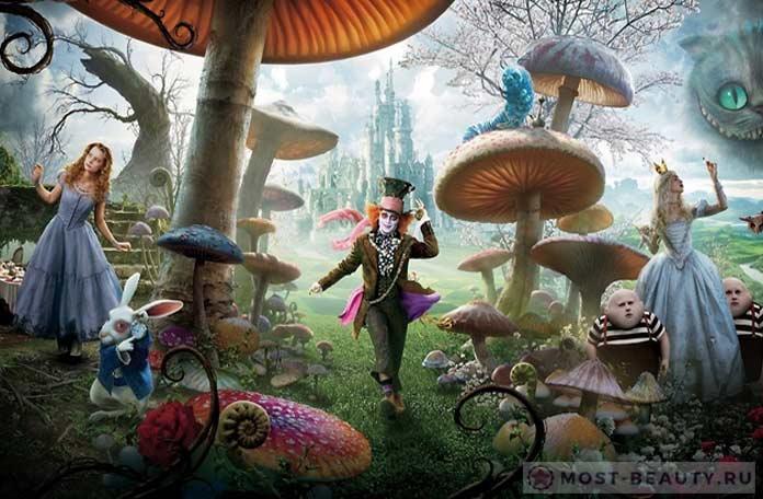 Лучшие книги фэнтези: Алиса в стране чудес