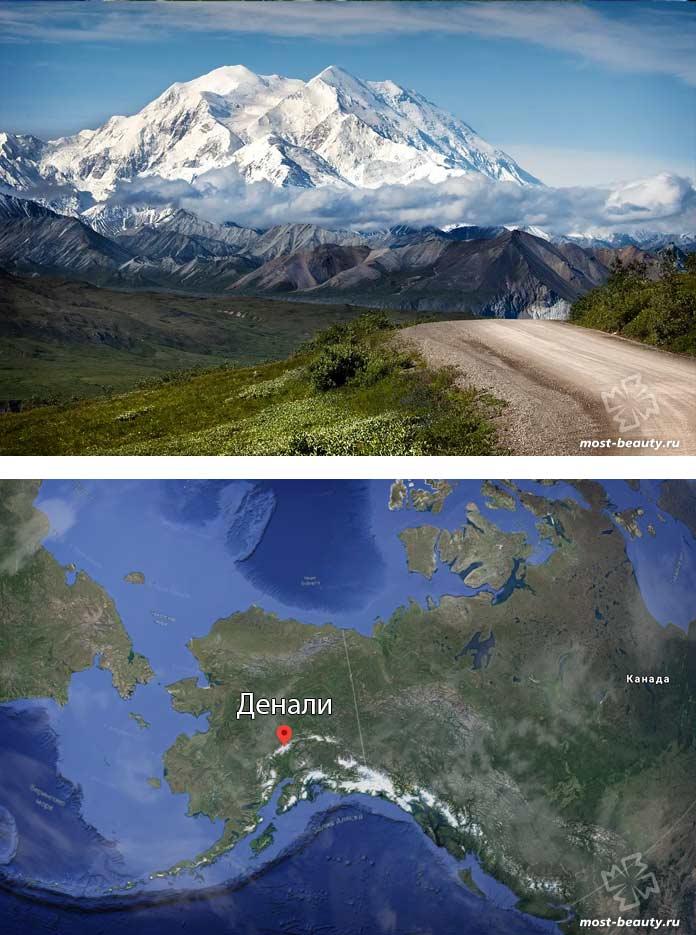 Самые высокие вершины гор: Денали. CC0