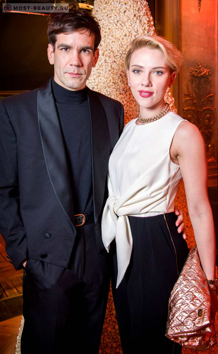 Scarlett Johansson and Romain Dauriac