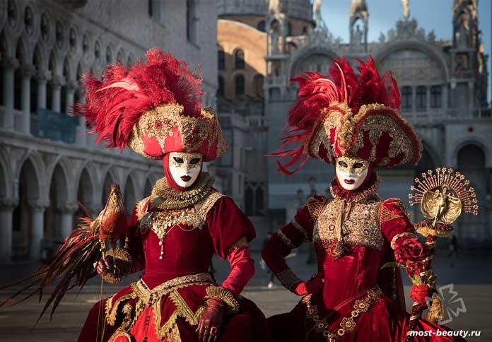 Самые красивые карнавалы в Венеции. CC0