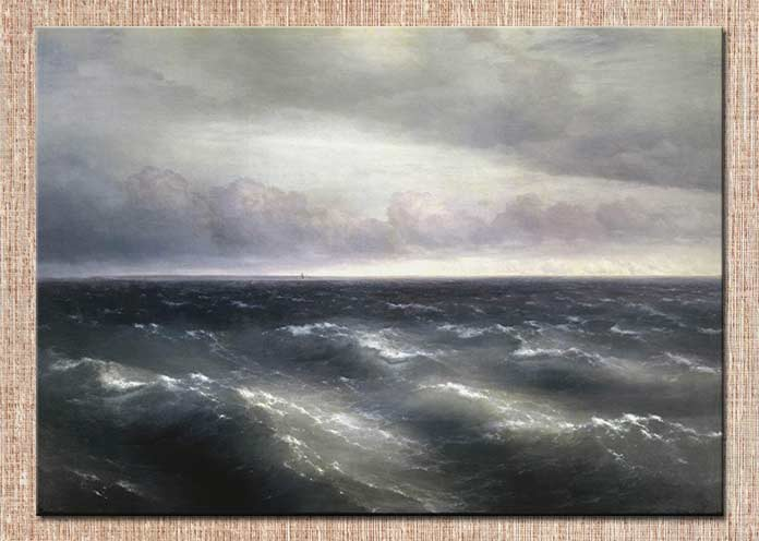 картина Айвазовского Чёрное море