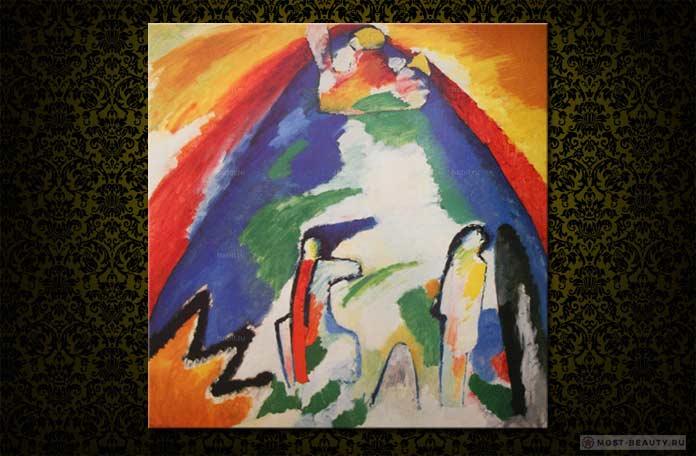 картина Кандинского - Гора
