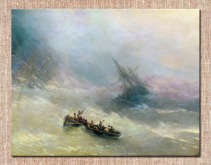 картина Айвазовского Радуга