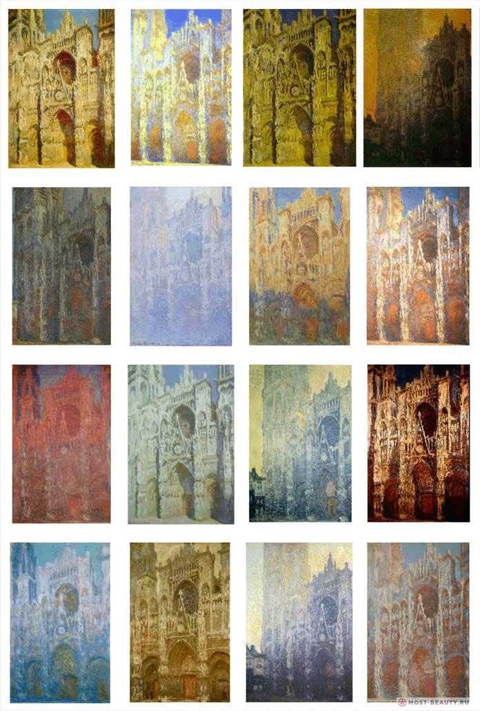 картины Моне: Руанский собор