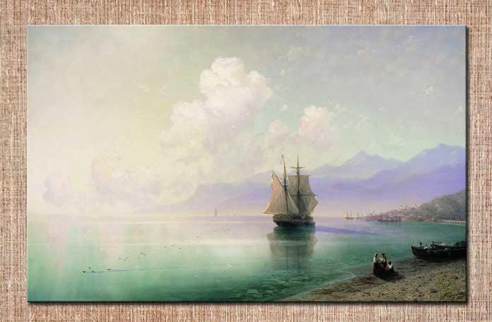 картина Айвазовского Штиль