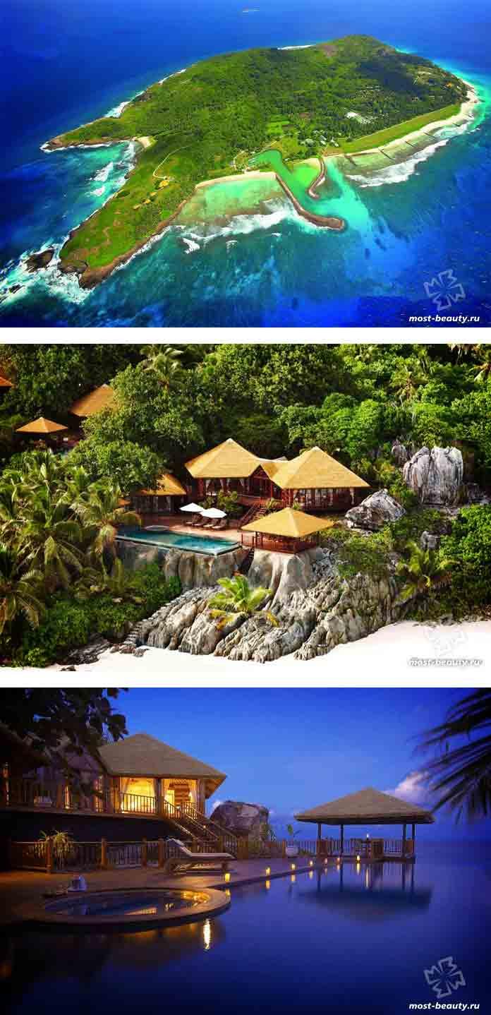Самые дорогие курорты мира: Fregate Island Private