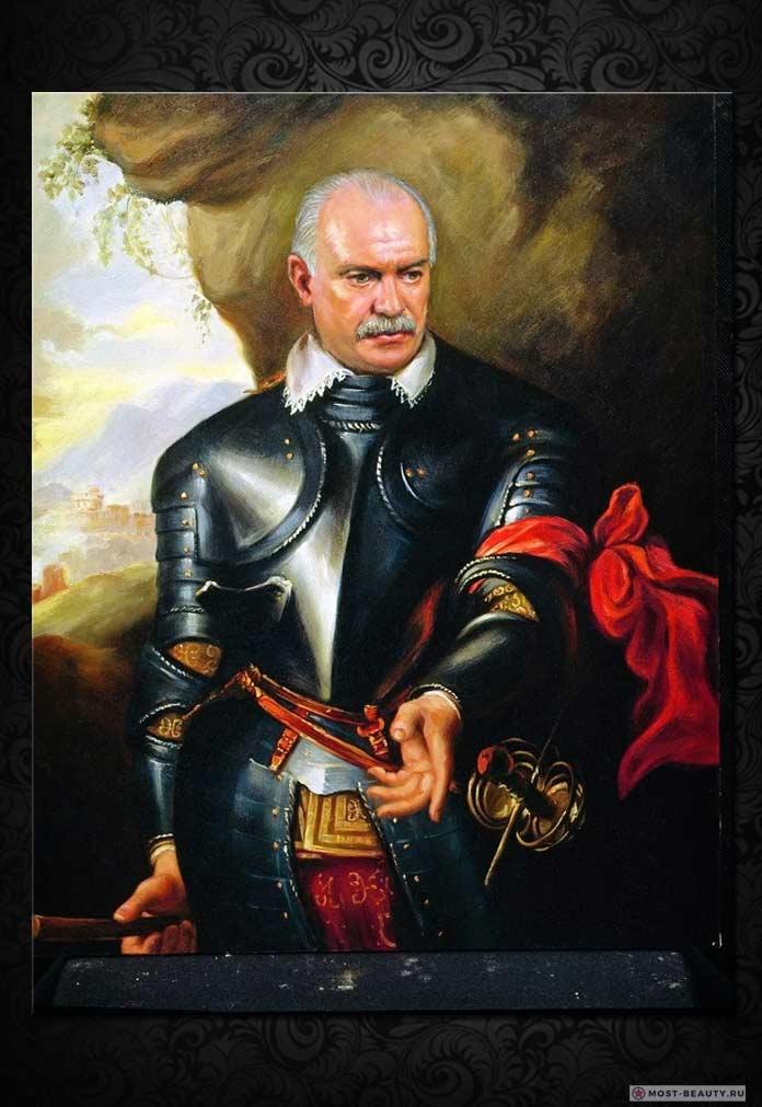 Портрет Михалкова