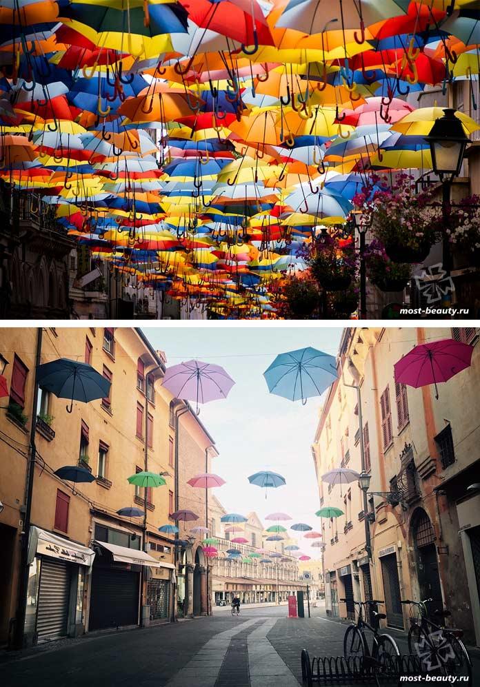 Самые красивые улицы мира: Улицы зонтиков. CC0