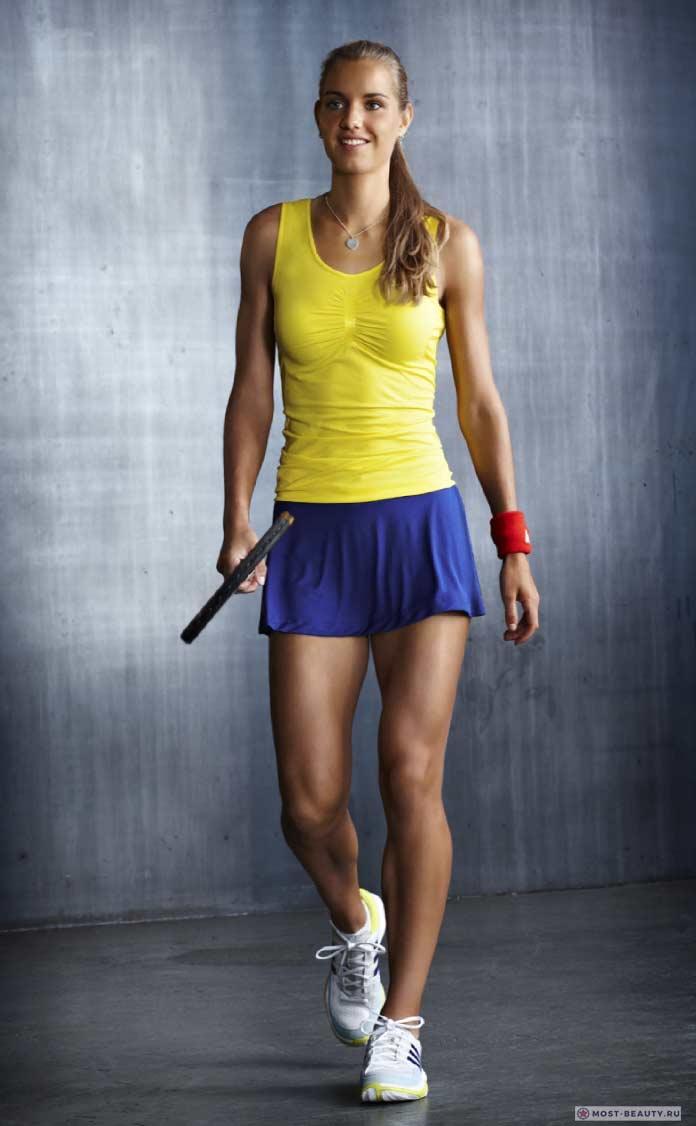 Arantxa Rus- очень красивая теннисистка