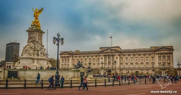 Букингемский дворец. CC0
