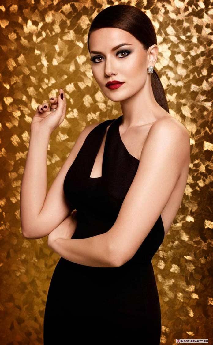 Самые красивые женщины Турции: Fahriye Evcen
