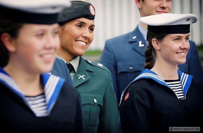 Военные норвежки