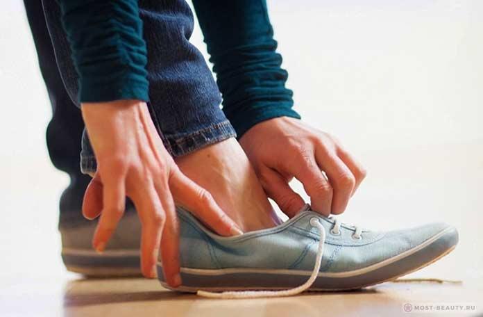 Дома в обуви