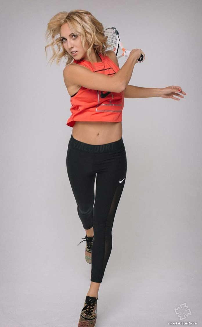 Самые красивые спортсменки России: Елена Веснина