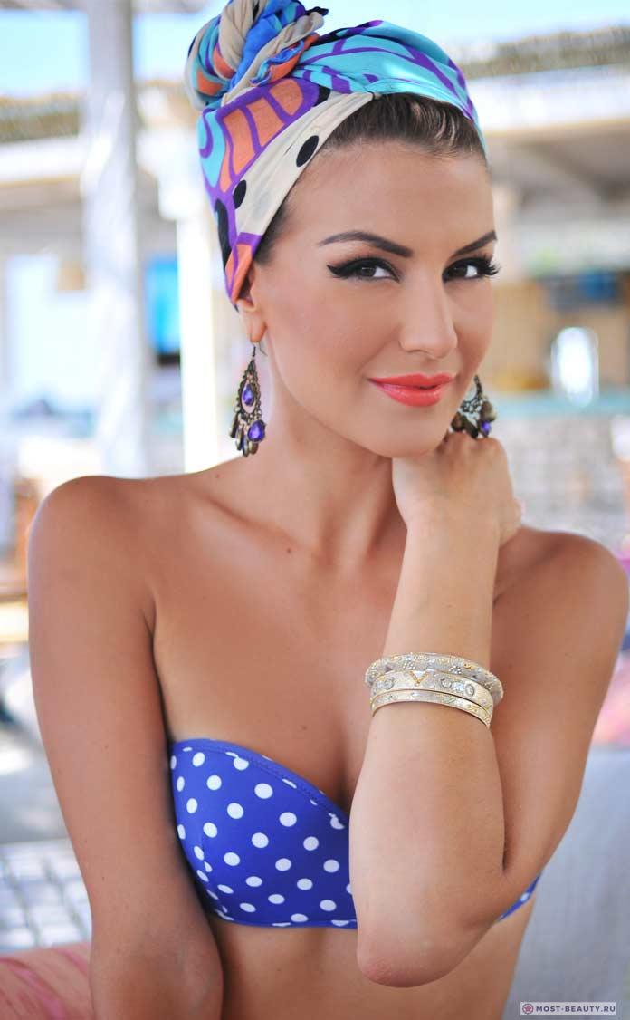 Самые красивые албанки: Floriana Garo