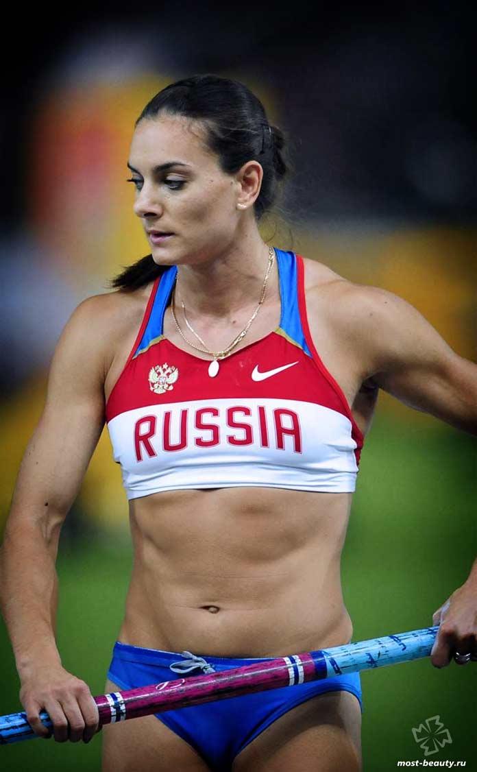 Самые красивые спортсменки России: Исинбаева