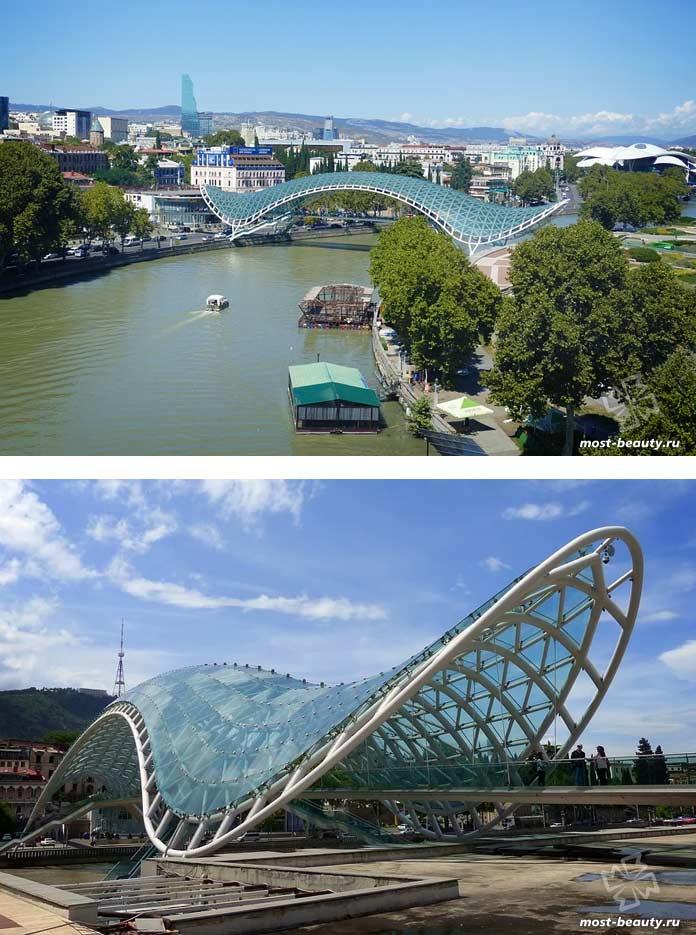Мост Мира в Тбилиси. CC0