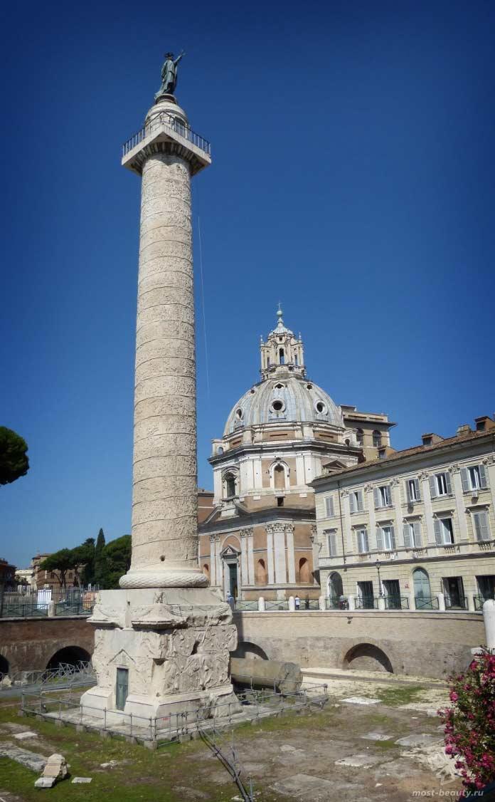 Колонна в Риме. CC0