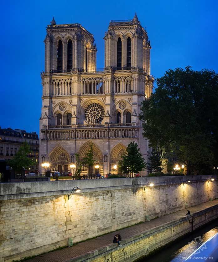 Собор парижской Богоматери. CC0