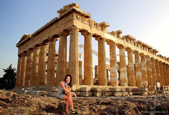 афинский Парфенон. CC0