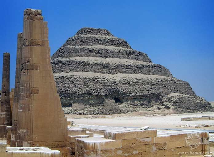 Пирамида Джосера. CC0