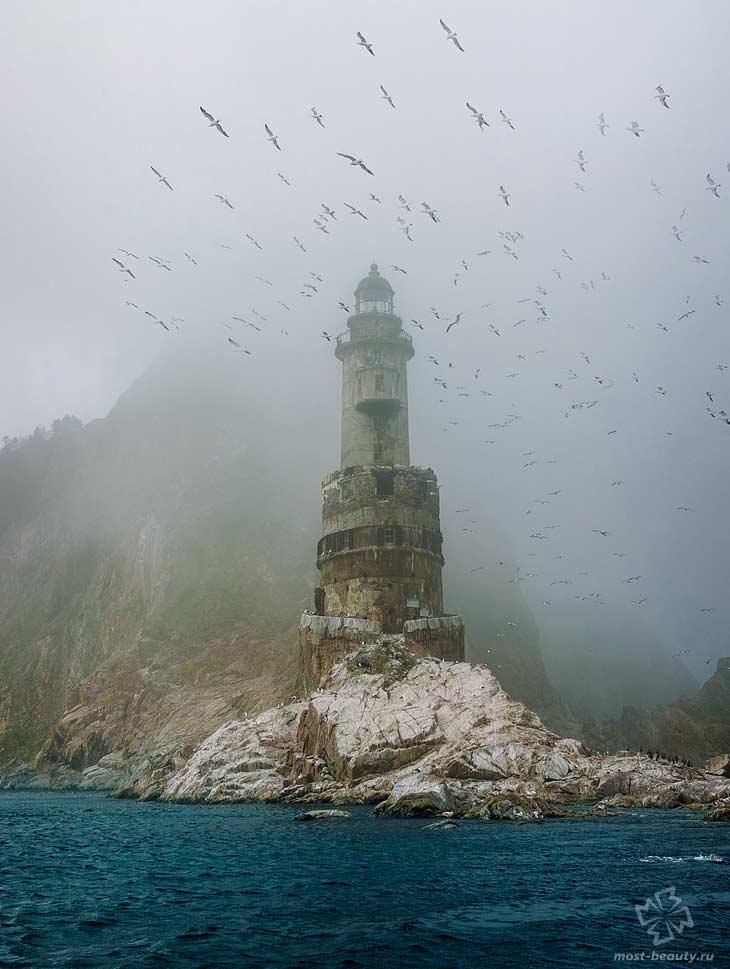Анива маяк. CC0