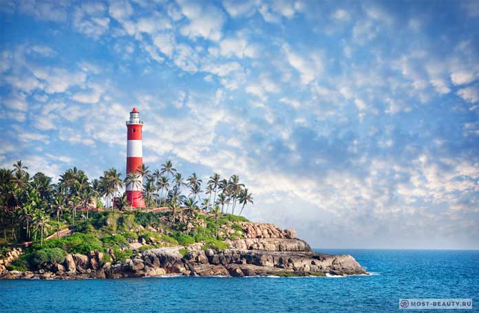 Kovalam Beach Lighthouse