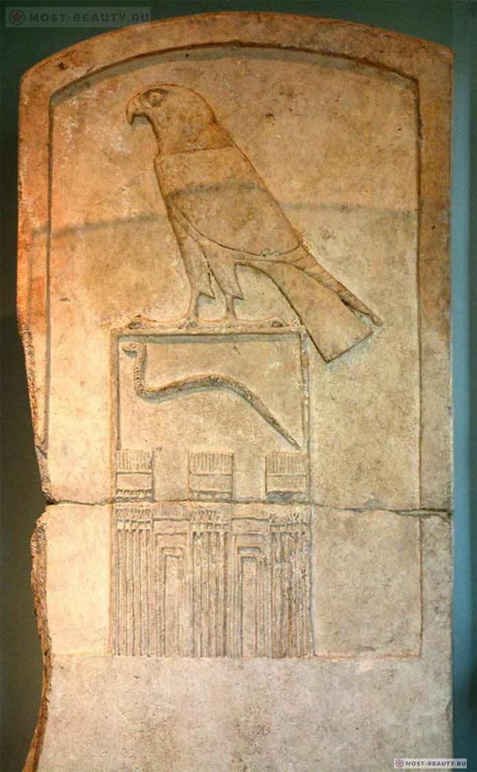 Мемориальная стела фараона Джета