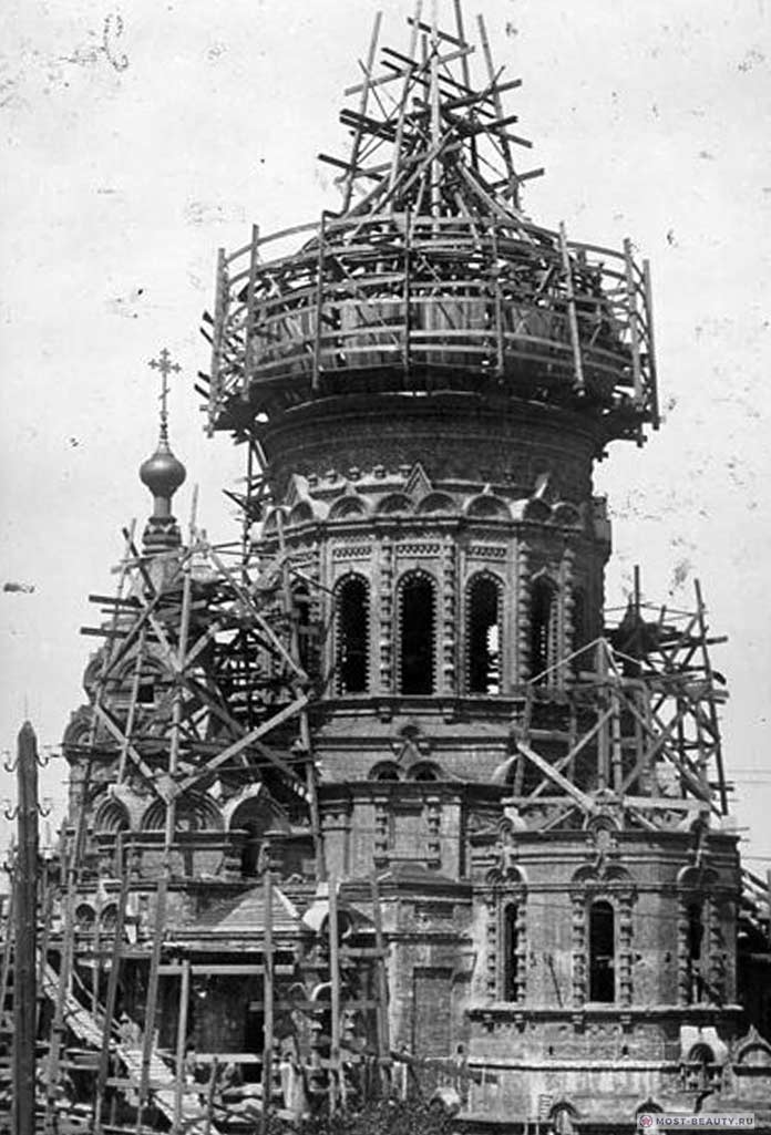 строительство Софийского собора