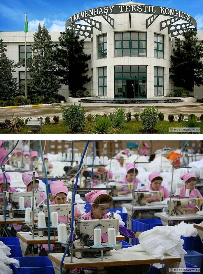 Текстильный комплекс Туркменбашы