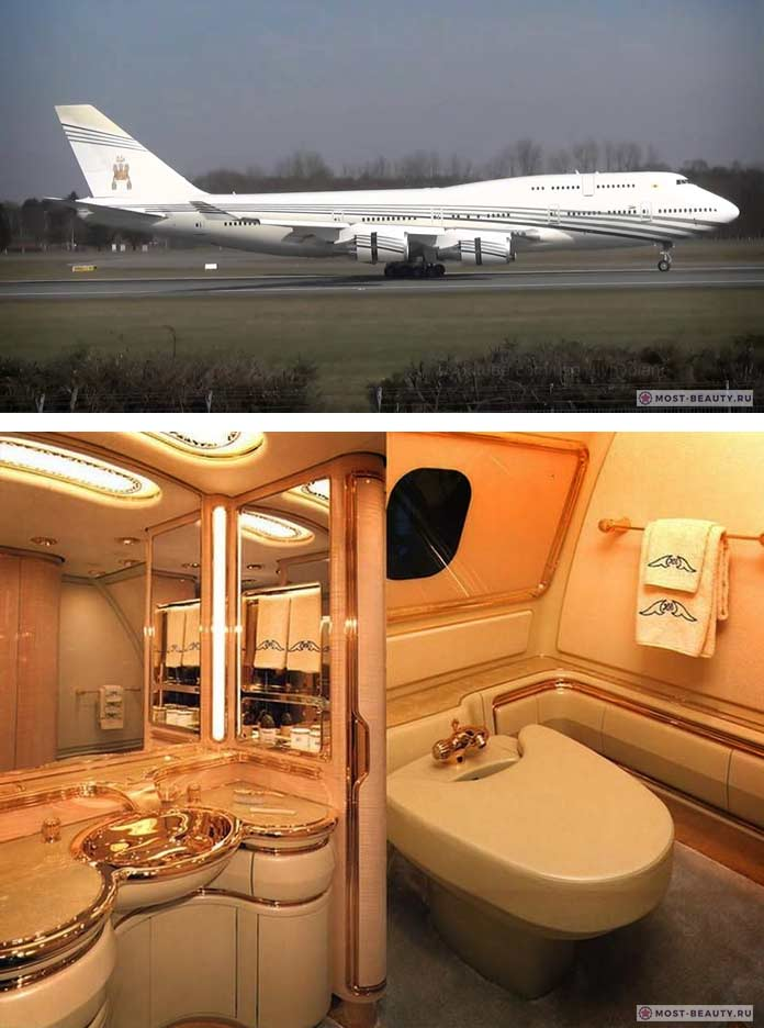The Sultan of Brunei Boeing 747-430