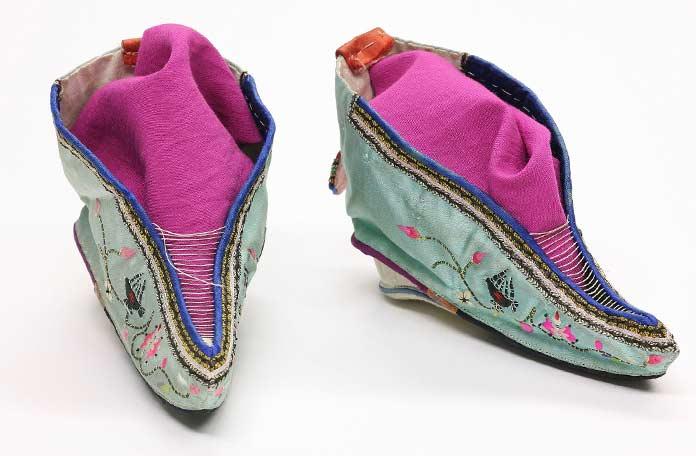 Туфли-лотосы