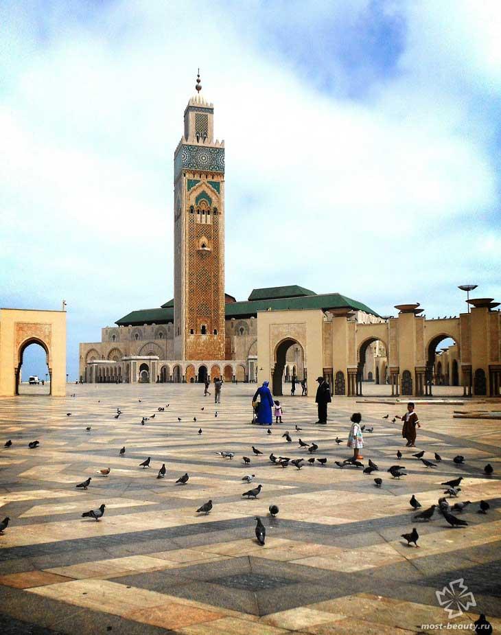 Мечеть Хасана II. CC0