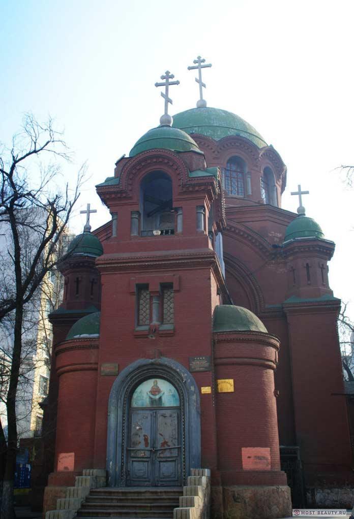 покровская церковь харбин