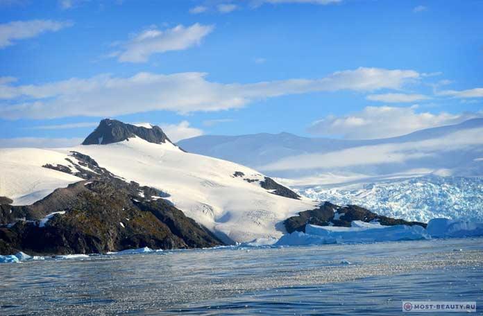 Красивые виды Южного полюса